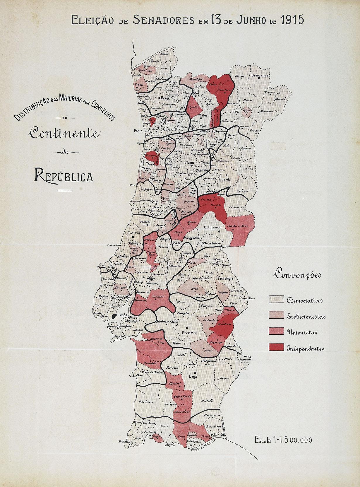 Materiais Para A Historia Eleitoral E Parlamentar Portuguesa 1820